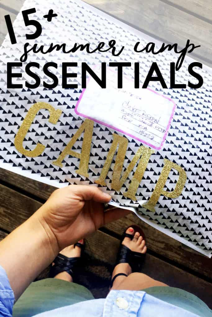 A Summer Camp Essentials + Camp Care Package so you can send your kid off for outdoor fun packed like a pro! how to pack for summer camp | sleepaway camp | camp care package ideas