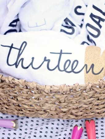 diy pool party towels are a sweet but useful gift for birthday party guests