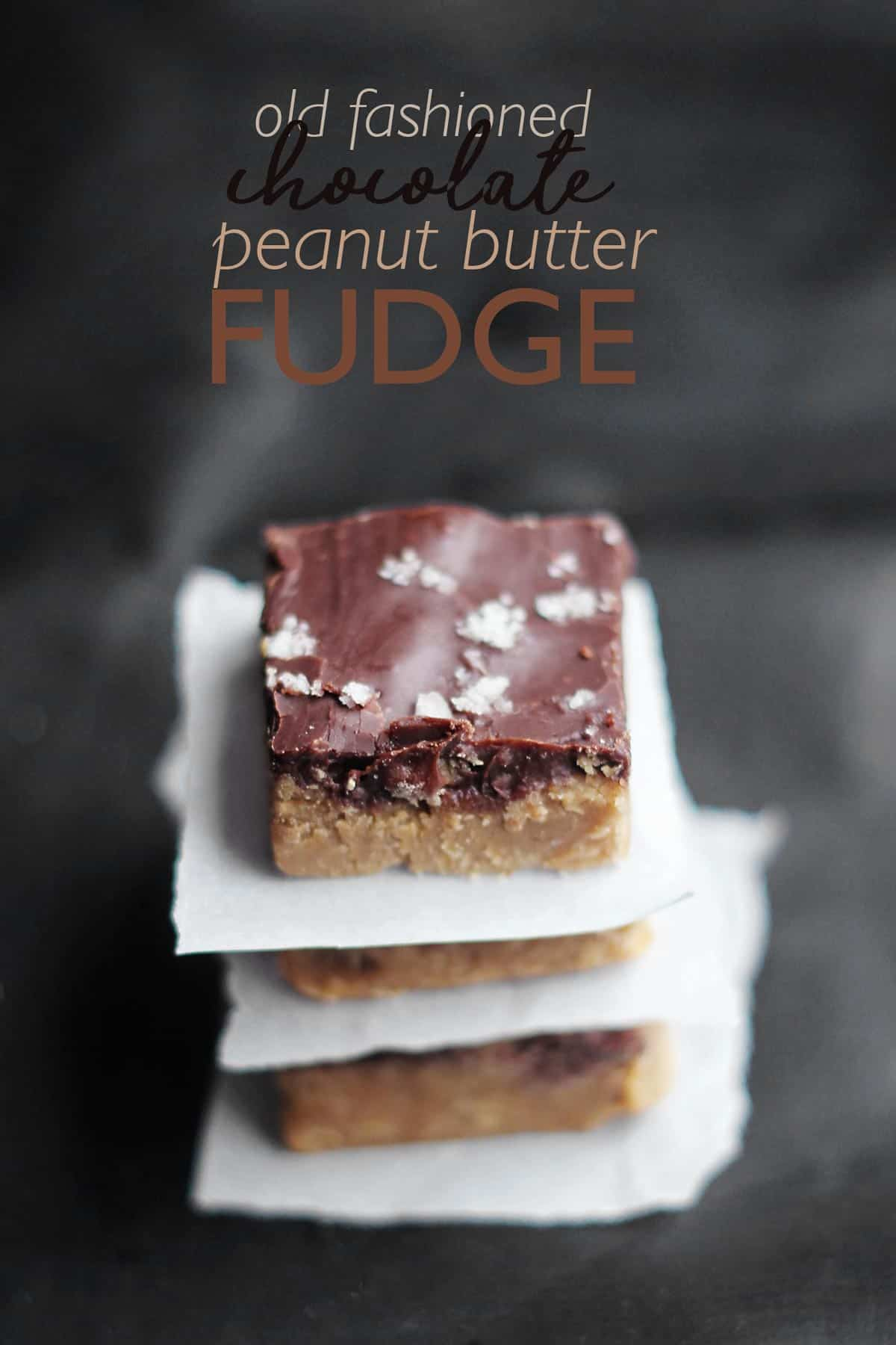 Chocolate Peanut Butter Fudge is an old fashioned peanut butter fudge recipe made on the stovetop. peanut butter fudge | chocolate peanut butter fudge | peanut butter fudge without powdered sugar | old fashioned peanut butter fudge | how to make peanut butter fudge