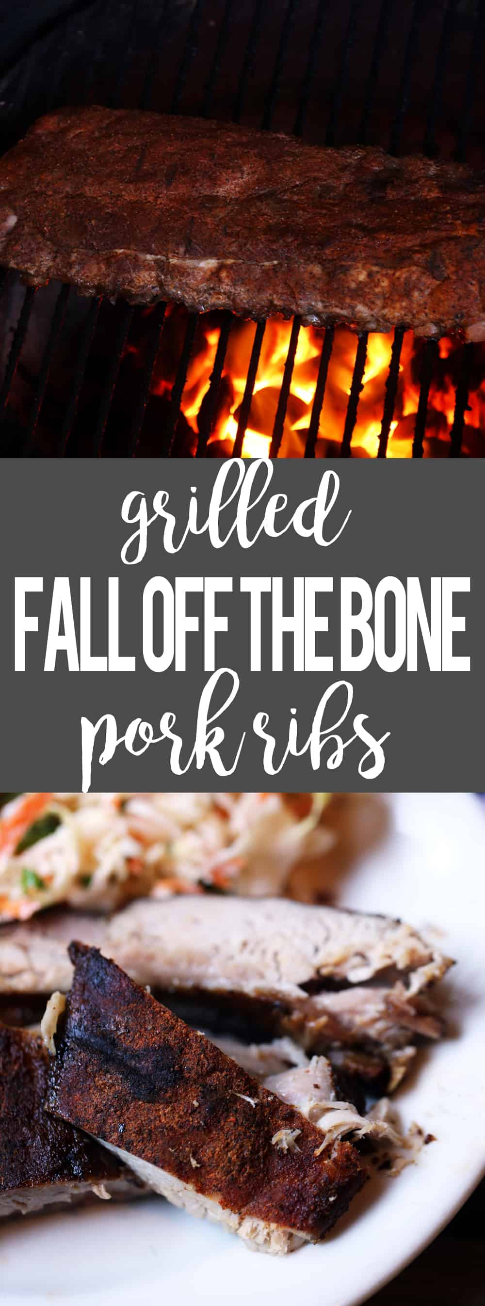 Grilled Fall Off the Bone Pork Ribs