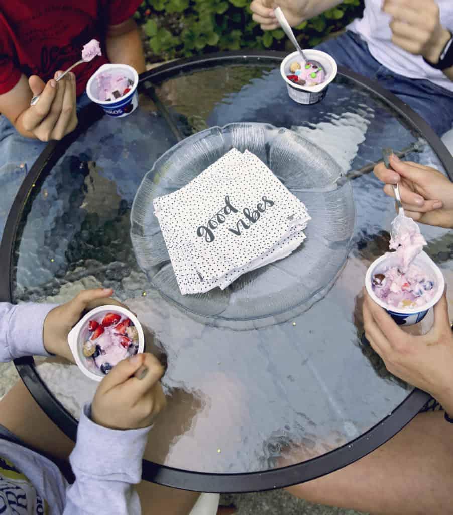 #ad frozen yogurt froyo party fro yo