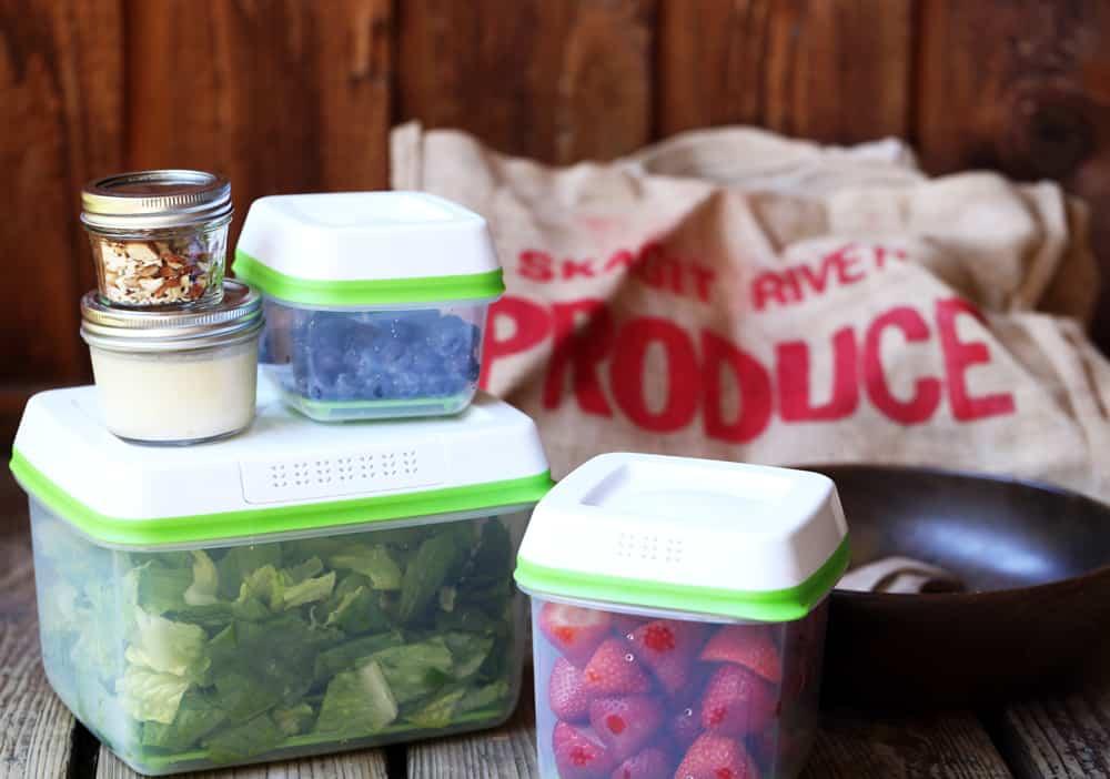 Summer Berry Fruit Salad ingredients