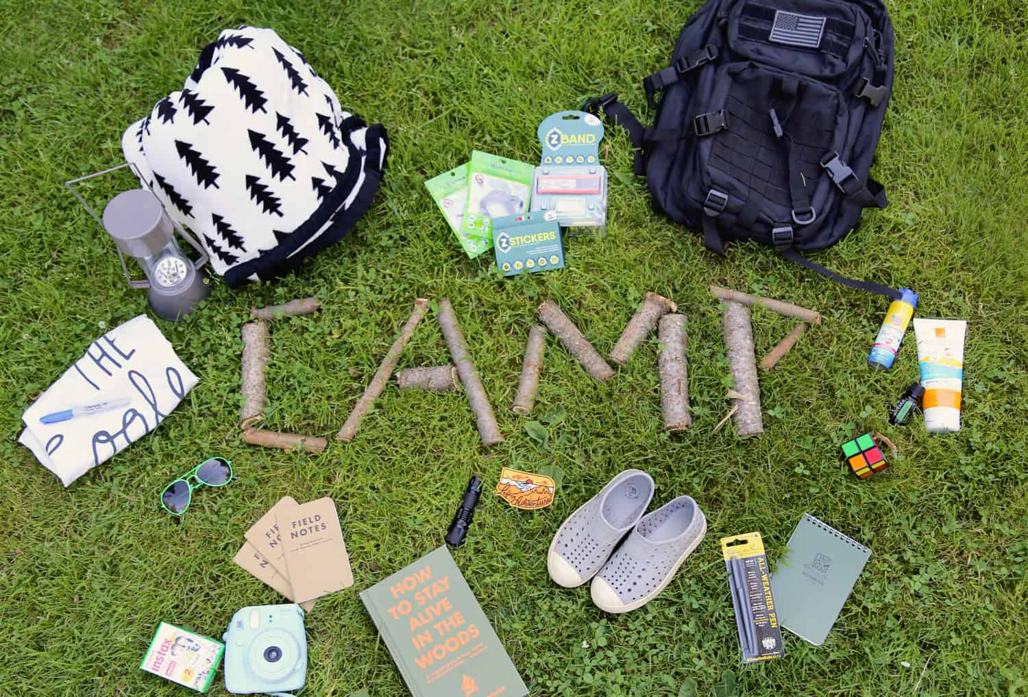 Summer Camp Essentials and Camp Care Pack