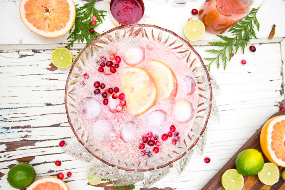 large batch holiday cocktail #ad