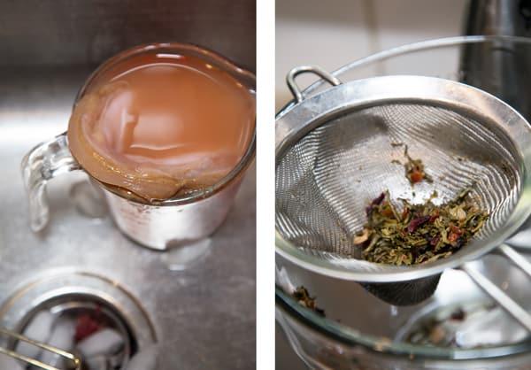 Pink Lady Apple Cider Kombucha recipe second fermentation homemade fall #SKSHarvest #SeasonalSolutions #ad