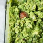 Smoky Lime Guacamole easy wholesome healthy avocado quick lunch #experiencefrontera #ad