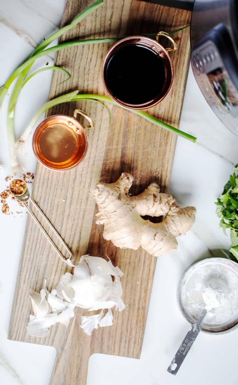Instant Pot Chicken Teriyaki ingredients