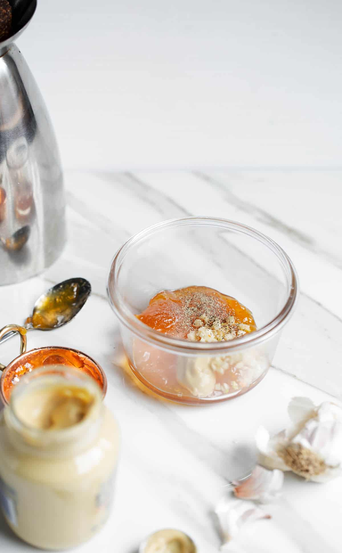 homemade creamy apricot dressing ingredients