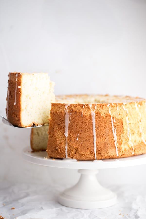 Banana Chiffon Cake 183 One Armed Mama