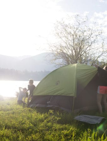 Tips for Camping with Kids that'll have you creating life long memories and enjoying camping in no time - whether you're an old pro or a camping newbie! Camping | Camping with Kids | Camping Checklist | Camp Cooking