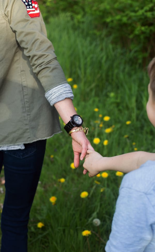 Incorporate Me Time + Family Time this spring with 5 ideas to celebrate Mother's Day doing the things you love with those you love the most. | Mother's Day | how we celebrate Mother's day | Mother's Day things to do | Mother's Day ideas | you day | wooden watches | giveaway #ad