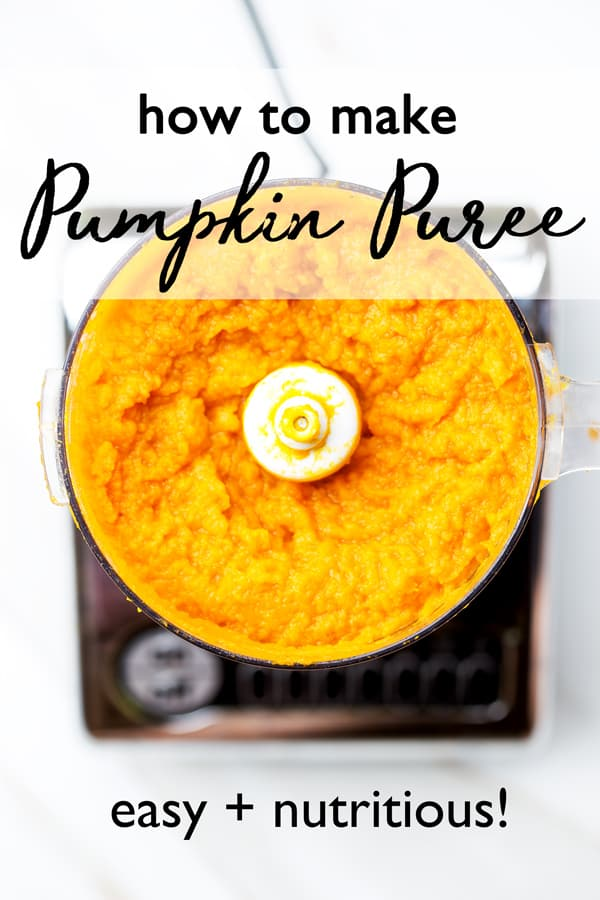 The flavor and texture of Fresh Pumpkin Puree can't be beat! And it's so cheap and easy to make your own when pumpkins are in season. Freeze it and enjoy pumpkin goodies all year long! how to make pumpkin puree at home | #pumpkin  #recipes | with fresh pumpkin | from pie pumpkins | to freeze @1armedMAMA