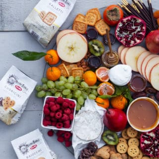 When you know How to Make a Dessert Charcuterie Board, it's easy to create a fun and interactive spread for any event!charcuterie board | dessert cheese ideas | how to make where to buy a charcuterie board out of wood | cheese plate idea without meat | charcuterie tray for a crowd for party brunch fall #ad