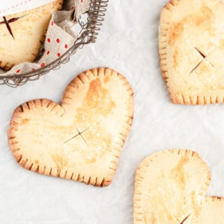 Lime Cherry Hand Pies are a simple sweet (and super adaptable!) recipe to enjoy year round. cherry pie | cherry hand pies | cherry limeade | cherry pie filling | shes my cherry pie |