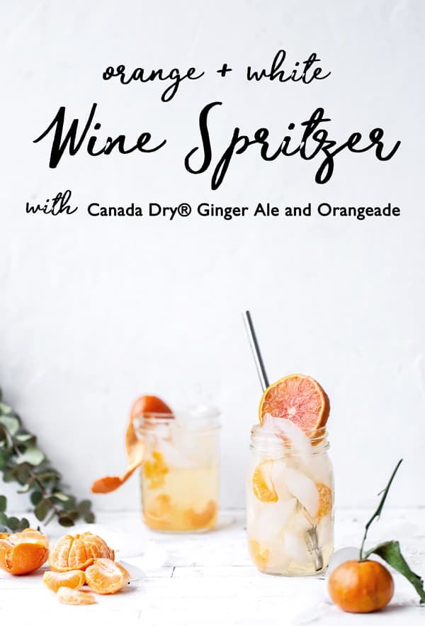 A picnic basket with a few essentials and a quick stop by the grocery store is all you need to Pack an Easy Snack and Spritzer Picnic!  Picnic with wine | picnic basket | picnic recipes | white wine spritzer | @CanadaDry @CanadaDryGingerAle #ad