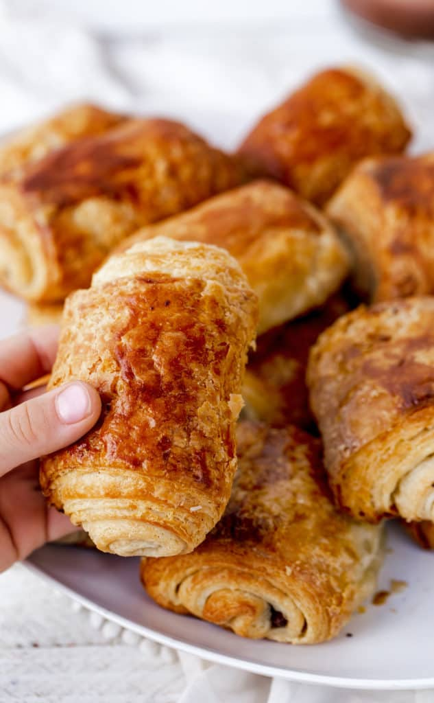 A Chocolate Croissant you can't wait to reach for!
