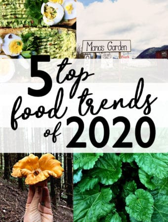 Top 5 Food Trends of 2020 are going to seem like more of the same, on steroids. Expect more alternative everything, socially conscious, health conscious and instagramable foods. food trend report | socially health conscious eating | backyard gardening | environmentalism