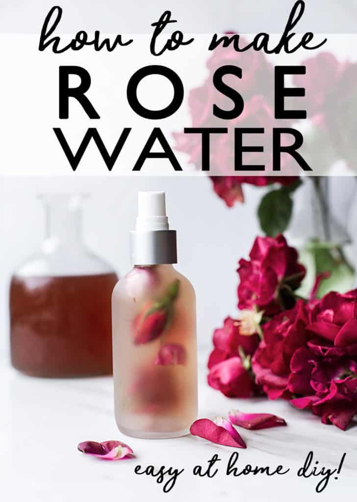 Learn How To Make Rose Water at Home  to easily and economically enjoy the health and wellness benefits of roses in so many ways! rosewater for face toner | rosewater benefits