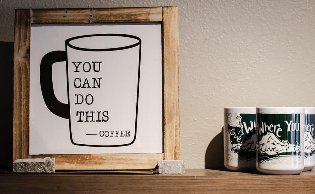 You can do this - coffee quote