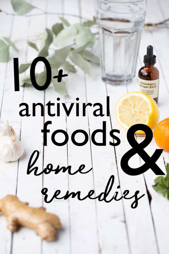 Antiviral Foods and Home Remedies to boost your immune system, prevent viruses from spreading and improve overall lung and respiratory function. antiviral foods | anti-inflammatory foods | antiviral home remedies