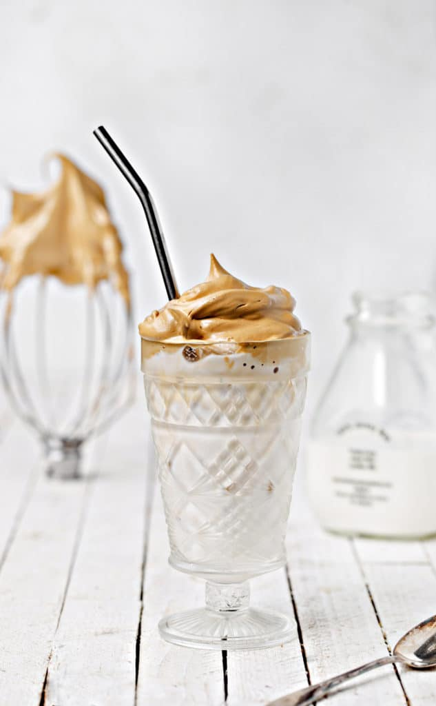 A fun alternative to your typical iced coffee Whipped Coffee Iced Lattes are easy to make at home