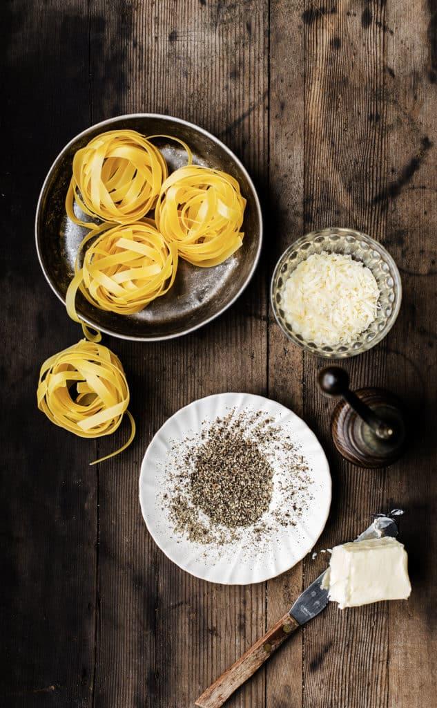 cacio e pepe pasta ingredients