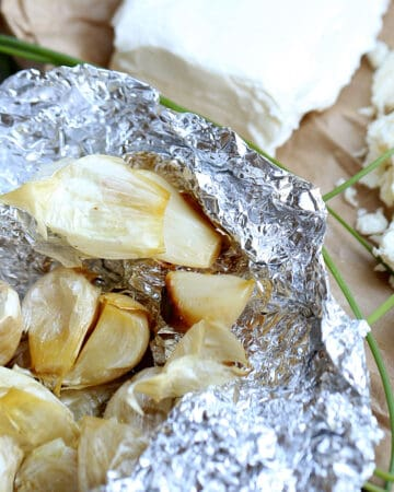 Perfect Roasted Garlic is baked using a simple technique for creamy roasted garlic, without stickiness or waste. roasted garlic   easy roasted garlic recipe   no food waste