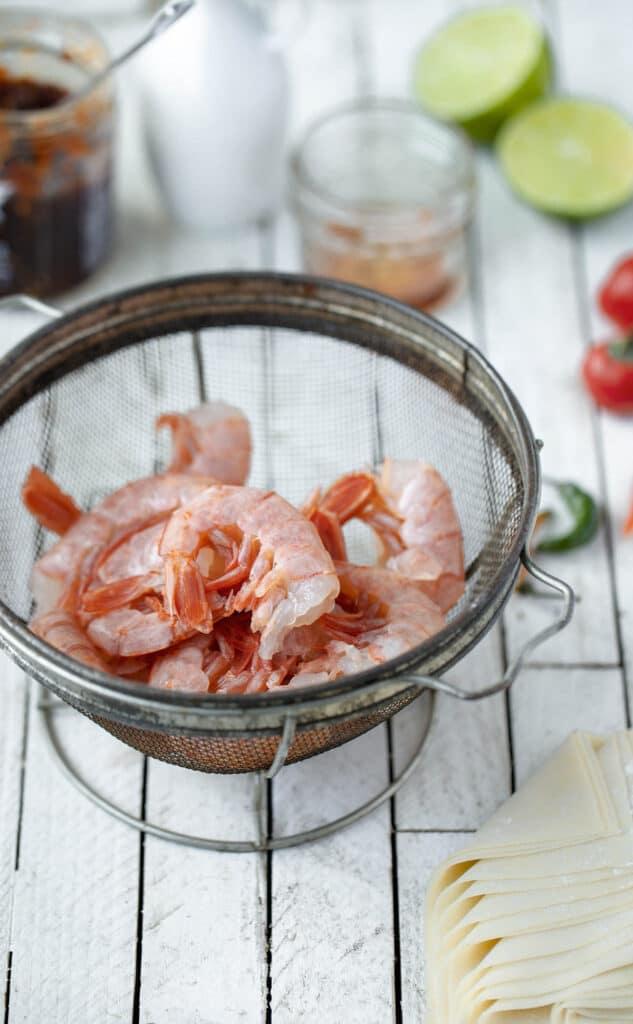 Firecracker shrimp ingredients