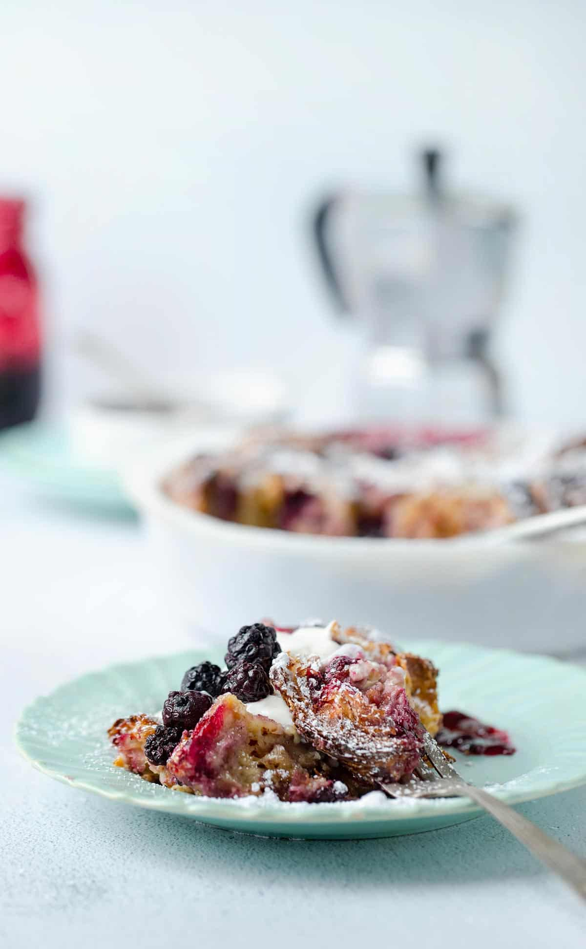 What to serve with Berries and Cream Croissant French Toast Bake