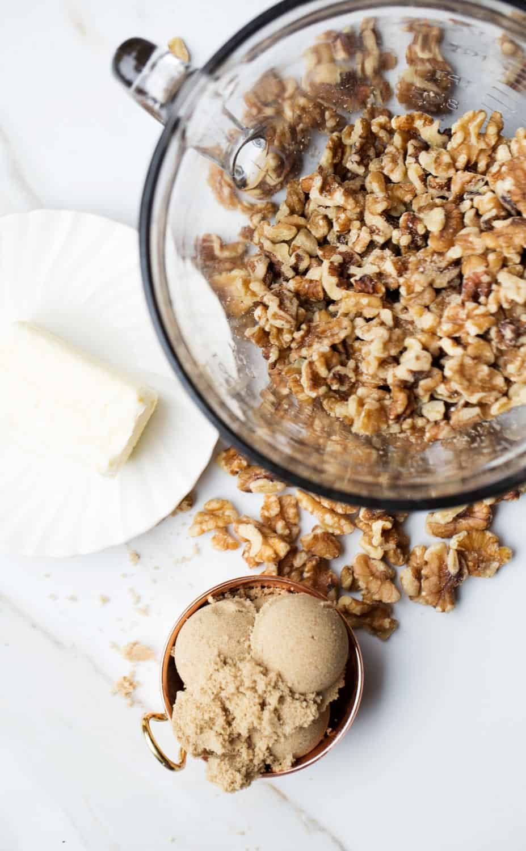 Gluten free walnut pie crust ingredients