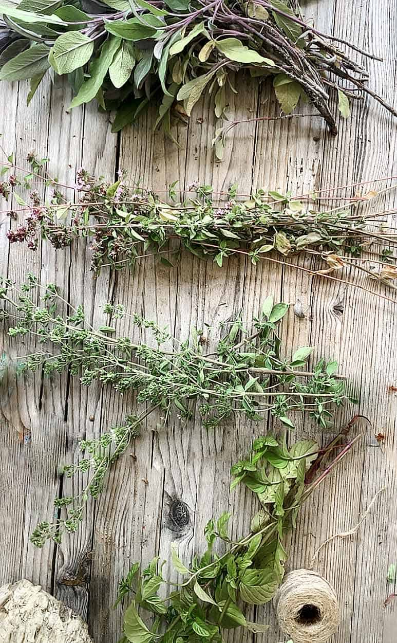 diy smudge stick materials and ingredients